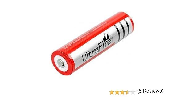 Pila recargable modelo ultrafire 18650 de 4000 mAh, 3. 7V: Amazon.es: Electrónica