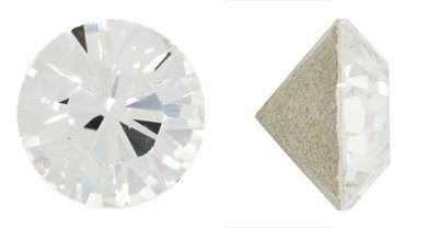 Swarovski Elements Crystal Clear Crystal Chatons (Pp24, Approx. 3mm, Xillion Round Cut)