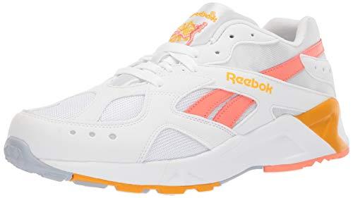 Reebok Unisex Adult's AZTREK SHOES White/Stellar Pink/Gold/Grey 12 M US