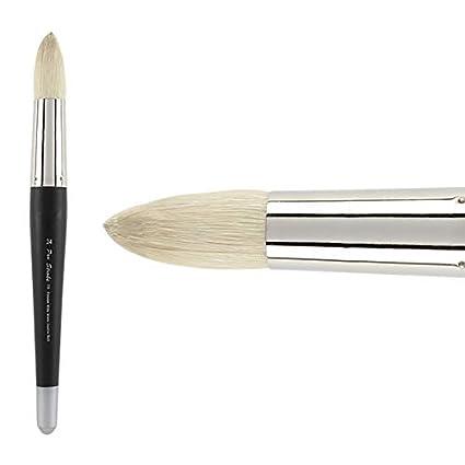 Filbert 12 Creative Mark Pro Stroke Premium Artist White ChungKing Hog Bristle Paint Brush