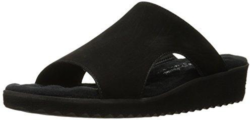 Walking Women's Black Flat Black Hartford Sandal Cradles 6OqrUx6