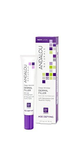 Serum Deep Wrinkle (Andalou Naturals Deep Wrinkle Dermal Filler, 0.6 Ounces)