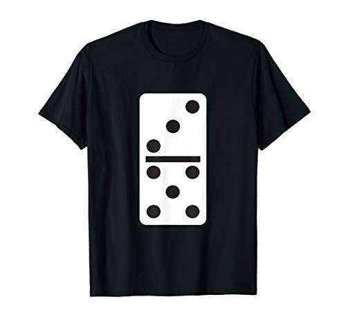 Fun Easy Group Halloween Costumes (Three Five Dominoes T-Shirt Halloween Costume Domino Game)