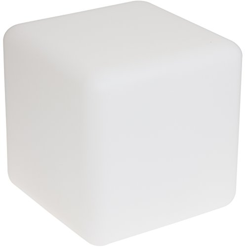 GreenLighting Color Changing 3W LED Floating Cube Light (Milky White, 300mm) Milky Light