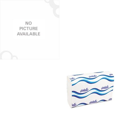 KITHERA8046ZRWNS101 - Value Kit - Heritage Healthcare Biohazard Printed Can Liners (HERA8046ZR) and Windsoft 101 Bleached White Embossed C-Fold Paper Towels (WNS101)