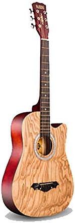 キッズアコースティックギター アコースティックギター初心者エントリ練習ピアノの指アコースティックギター初心者 学習者のためのクラシックギター (色 : B, Size : 38 inches)