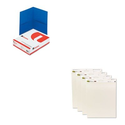 KITMMM559VADUNV56601 - Value Kit - Post-it Easel Pads Self-Stick Easel Pads (MMM559VAD) and Universal Two-Pocket Portfolio (UNV56601) by Post-it