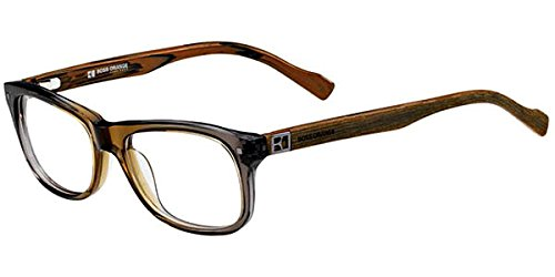 Hugo Boss Orange Prescription Rx Eyeglasses - 0124 0CHM - Grey Olive Brown - Boss Wood Sunglasses Hugo
