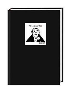 Loriot semanas de agenda A5 2019 Citas libro Calendario ...