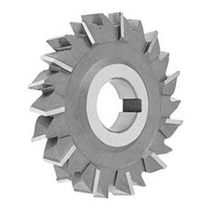 """6 x 1//4 x 1-1//4/"""" HSS Side Milling Cutter Staggered Tooth"""