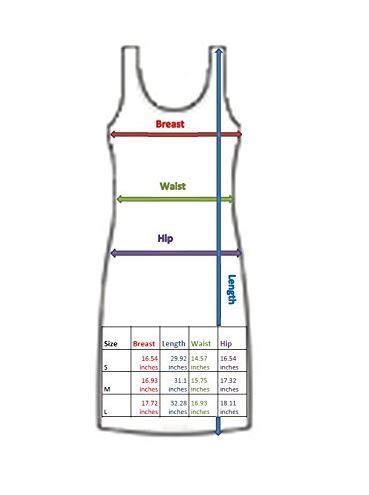 XXL Tank Original Hawaiikleid S Gelb Palmen Damen Strand KY's Print Gelb Hawaii Meer Kleid fqIwxaX4