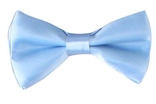 WDSKY Infant Baby Bow Ties for Boys Girls Toddler Tuxedo Bowties Light Blue (Toddler Blue Tuxedo)