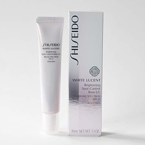 Shiseido White Lucent Brightening Spot Control Base UV Broad Spectrum SPF 37 Sunscreen Color - IVORY