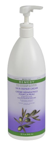 Medline Remedy Unscented Olivamine Skin Repair Cream, 32 Fluid Ounce