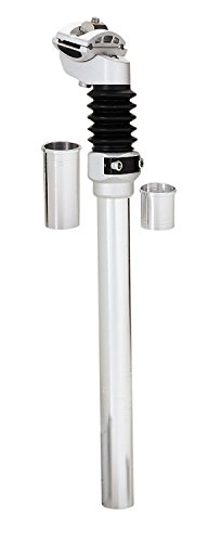 Diamondback Multi-Fit Bicycle Suspension Seat Post, Silver Suspension Bike