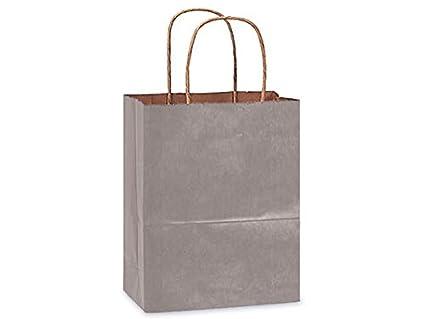 Amazon.com: 100% bolsas de papel kraft reciclado Tint – Cub ...