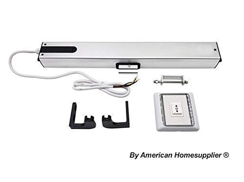 Homesupplier Electric Automatic Window Opener, Window Opening Control with Wall Switch 24V DC