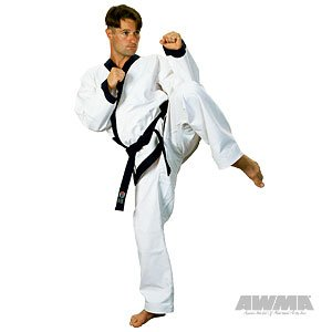 Proforce 14oz Heavy Weight Tang Soo Do Uniform - Blue - Size 4