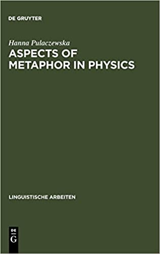 aspects of metaphor in physics pulaczewska hanna
