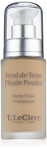 T LECLERC TEINT Fond de Teint Fluide Poudr SPF15 03 Beige Sable Mat (30ml)