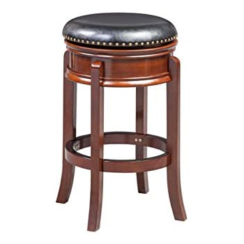 Amazon Com Boraam 43929 Hamilton Bar Height Swivel Stool