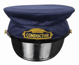 [Lionel The Polar Express Deluxe Adult Conductor Hat Train] (Hat Costumes Accessory)