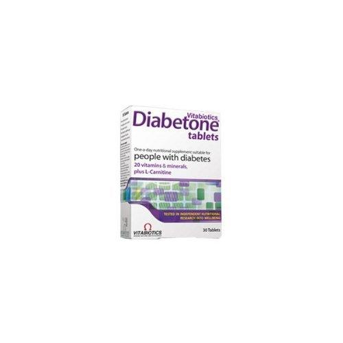 - Diabetone (30 Tablets) - x 2 *Twin DEAL Pack* by Vitabiotics
