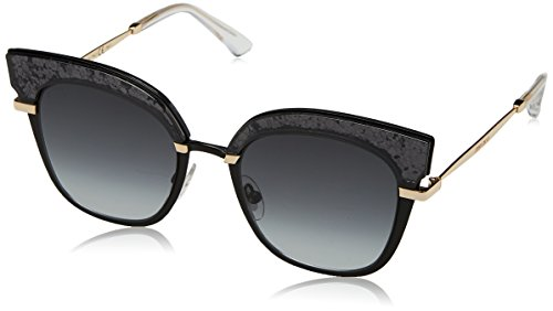 Black Jimmy Choo S para Sol Multicolor Rosy Mujer Gold de Gafas PHHxqSdwz