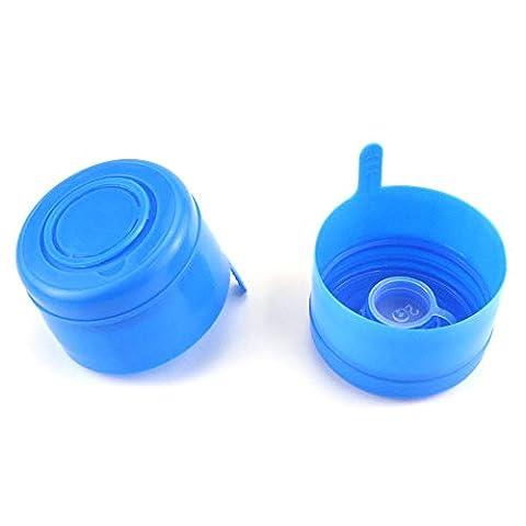 Neworkg 30 Pack Gallon Water Bottle Caps, Reusable Bottle Caps for 55mm 2,3 and 5 Gallon Water Jug