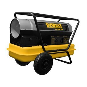 Dewalt F340690 135,000 BTU Forced Air Kerosene Construction