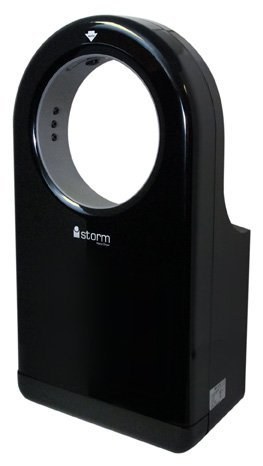 E-Z Taping System HD0980-16 iStorm High Speed Hand Dryer in Black