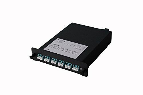 shke 12-fiberパッチパネルMTP to 12 LC 40 GB LGXモジュール B01L70QU4G