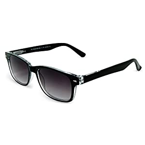 In Style Eyes Rescue Me, Classic Wayfarer Full Reader Sunglasses. Not BiFocals /Black/1.50 Strength