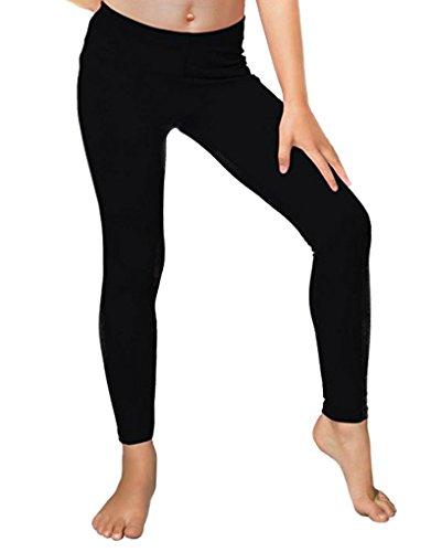 Dinamit Jeans Girls Fleece Lined Leggings Black Small