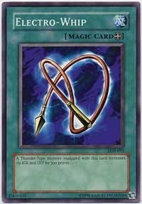 Yu Gi Oh    Electro Whip  Lob 093    Legend Of Blue Eyes White Dragon   Unlimited Edition   Common