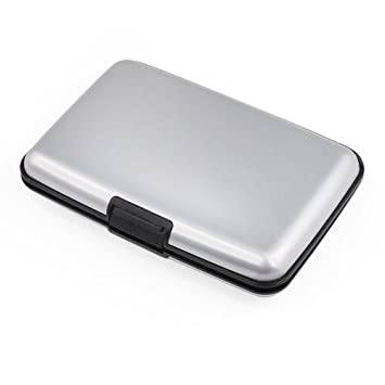 Aluma Aluminium Silver Wallet Credit Card Holder RFID Blocking