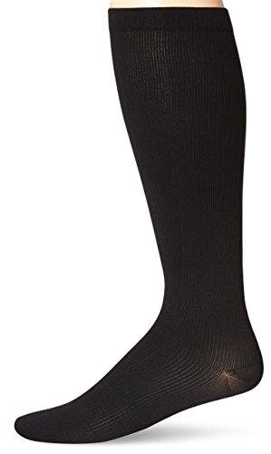 Dr. Scholl's Men's Over-The-Calf Compression Socks,  Black, Shoe: Sock Size: 10-13/Shoe Size:9-11 (Dr Scholls Compression Socks)