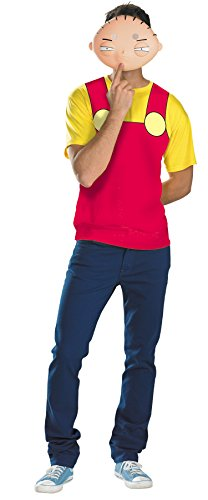 Family Guy - Stewie Adult Costume Kit Red Plus (50-52)