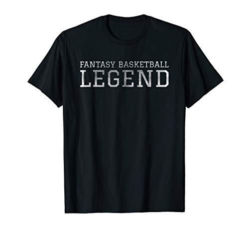 Fantasy Basketball Legend Shirt GOAT League Draft Day Funny College Mens All Star Watch