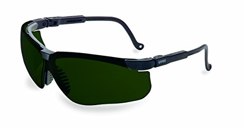 Uvex by Honeywell Genesis Safety Glasses with Uvextreme Anti-Fog Coating - Cutting Goggle Shade