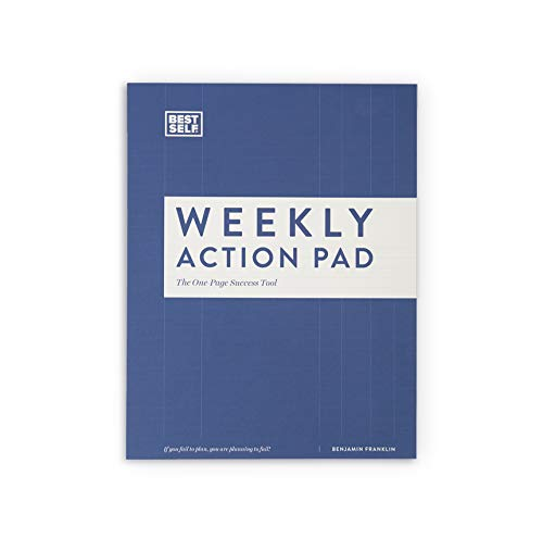 (Daily Planner - BestSelf Co. Weekly Action Pad - 52 Templates - Powerful Visual Aid - Empowers You to Prioritize Your Time - Helps Boost Your Productivity)