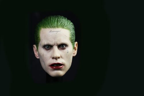 Female Joker Costume Tutorial (Shalleen 1:6th The Joker Jared Leto Head Sculpt Model For 12