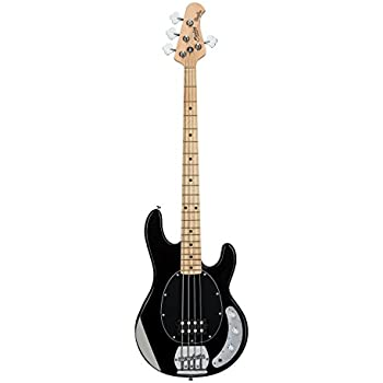 sterling by music man stingray ray4 bass guitar in black musical instruments. Black Bedroom Furniture Sets. Home Design Ideas
