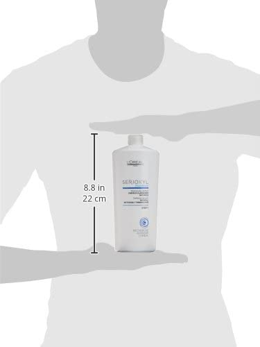 LOréal EXPERT PROFESSIONNEL SERIOXYL clarifying shampoo natural hair step 1 1000 ml