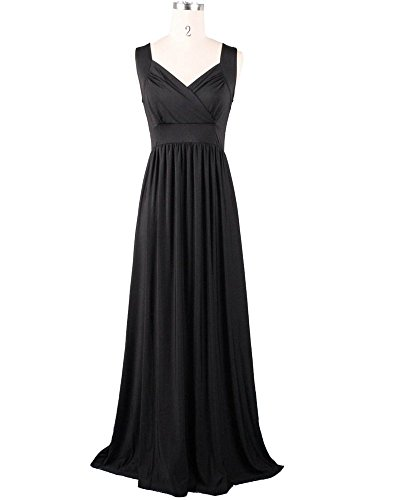 long black evening dress size 20 - 4