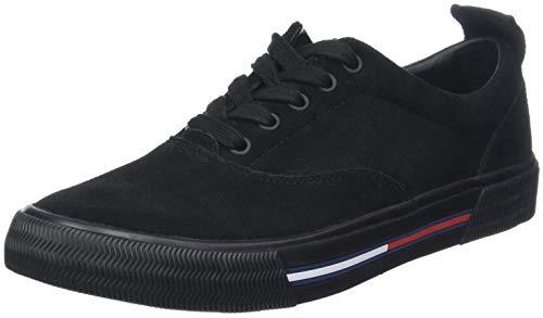 Hilfiger Denim Herren Oxford City Sneaker Schwarz (Black 990)