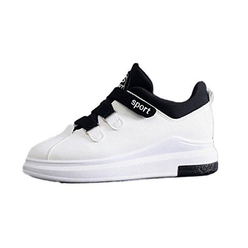 40 Femme Sneakers Confortable Baskets Blanc Antidérapantes JRenok de 35 Marche Running Athlétique Respirant Chaussures f4tqta7g
