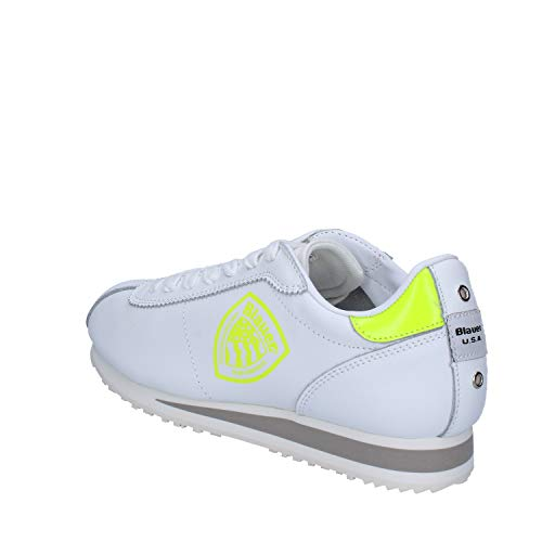 Blauer Bianco Pelle Sneaker Blauer Donna Sneaker Donna f5wnYq