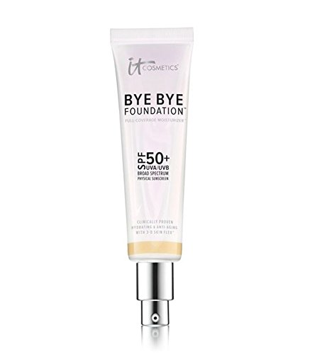 It Cosmetics Bye Bye Foundation Spf 50+ Full Coverage Anti-aging Moisturizer - 1.014oz - Medium