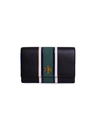 Georgia Burch in Tory Multi Green Black Stripe Crossbody w1dAAq